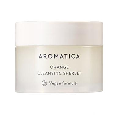 Aromatica Orange Cleansing Sherbet Очищающий щербет с маслом канолы и маслом семян бабассу 11г