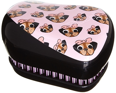 Tangle Teezer Compact Styler Pug Love Расческа (розовый) 1шт  3