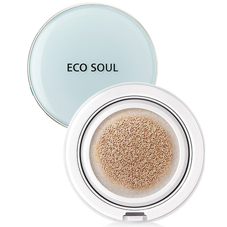 The Saem Eco Soul Power Proof Cooling BB Cushion Тональный BB крем-кушон 13г