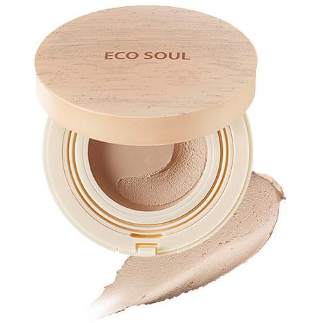 The Saem Eco Soul Mousse Foundation Тональная основа-мусс SPF44/PA++ 12г