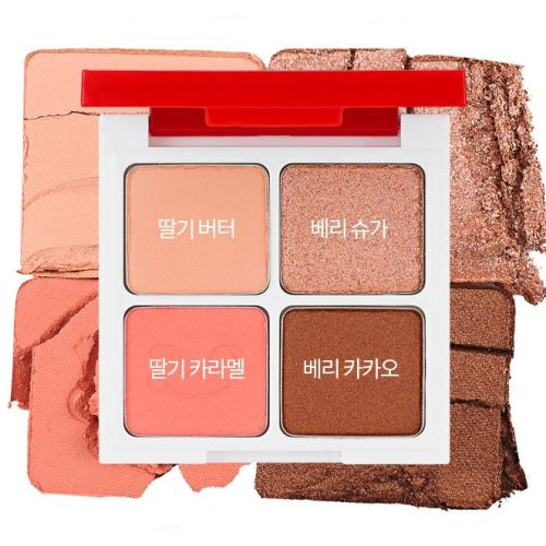 Holika Holika Peko Jjang Piece Matching 4 Colors Shadow Palette Палетка теней для век 6г