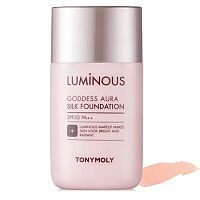 Tony Moly Luminous Goddess Aura Silk Foundation Тональная основа 45мл
