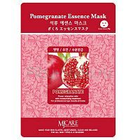 Mijin Pomegranate Essence Mask Маска тканевая Гранат 23г