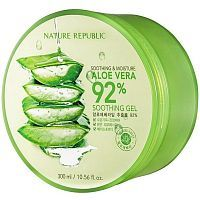 Nature Republic Soothing&Moisture Aloe Vera 92% Soothing Gel Гель для тела с алоэ вера 300мл
