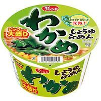 Daikoku Foods Soy Sauce Ramen with Wakame Seaweed Лапша Рамен с соевым соусом и Вакамэ 100г