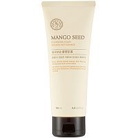 The Face Shop Mango Seed Silk Moisturizing Cleansing Foam Пенка для умывания с манго 150мл