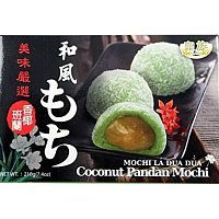 Royal Family Coconut Pandan Mochi Моти кокос с панданом 6шт