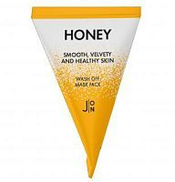 J:on Honey Smooth Velvety and Healthy Skin Wash Off Mask Pack Маска с экстрактом меда 5г