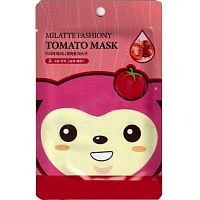 Milatte Fashiony Tomato Mask Sheet Маска тканевая с экстрактом томата 21г