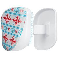 Tangle Teezer Compact Styler Winter Frost Расческа (белый) 1шт