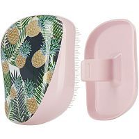 Tangle Teezer Compact Styler Palms & Pineapples Расческа (Розовая) 1шт