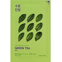 Holika Holika Pure Essence Mask Sheet Green Tea Тканевая маска с зеленым чаем 20мл