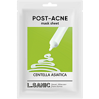 L.Sanic Centella Asiatica Post-Acne Mask Sheet Тканевая маска против постакне 25мл