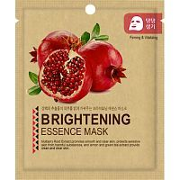 Mijin Pomegranate Essence Mask Тканевая маска с гранатом 25г