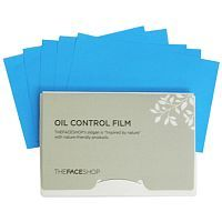 The Face Shop 3M Oil Control Film Матирующие филмы 50шт